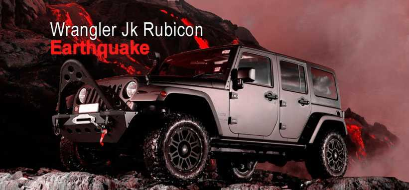 "Jeep Wrangler Jk Rubicon Earthquake 33"" tires"