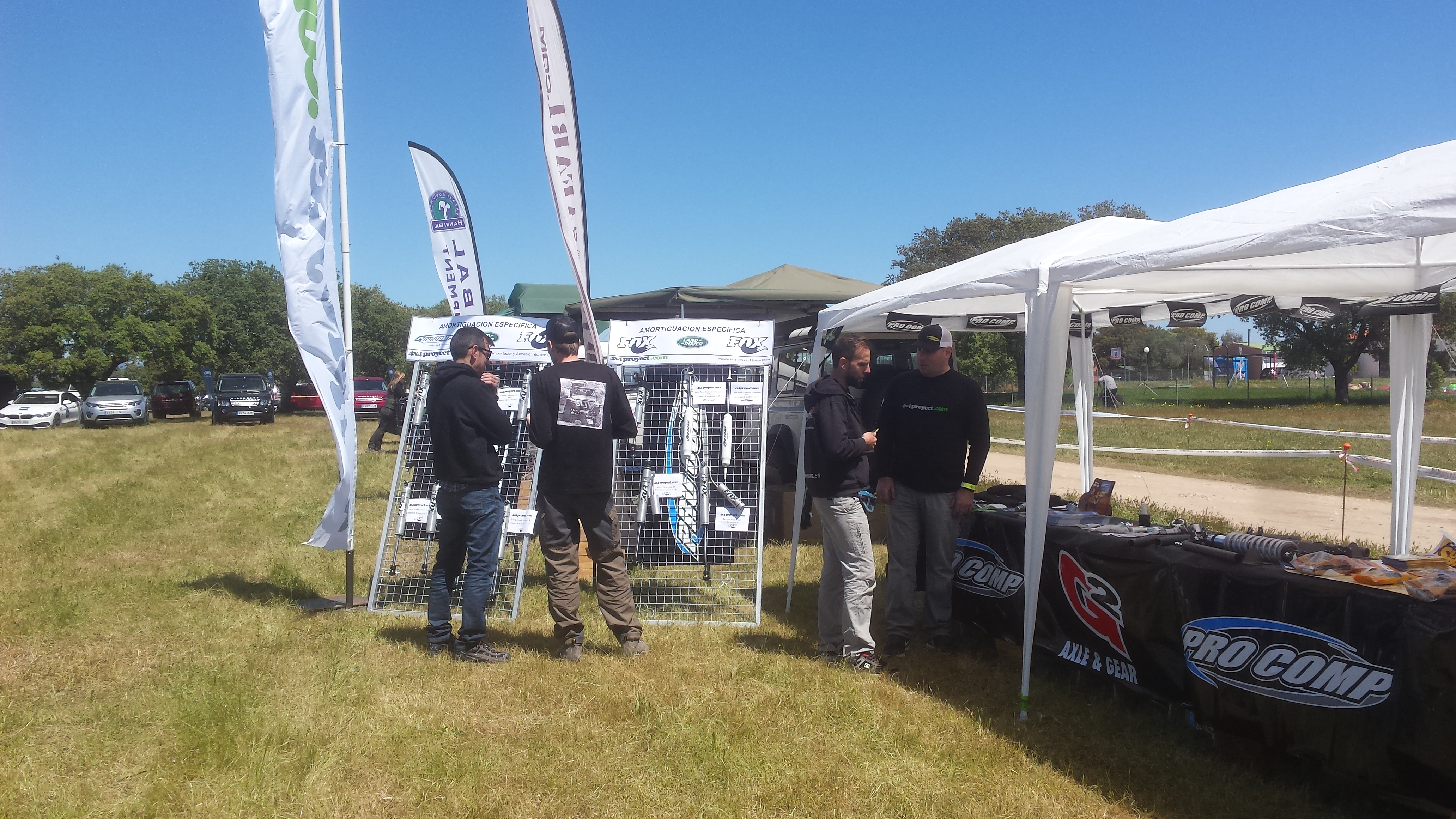 Stand 4x4Proyect Club Land Rover